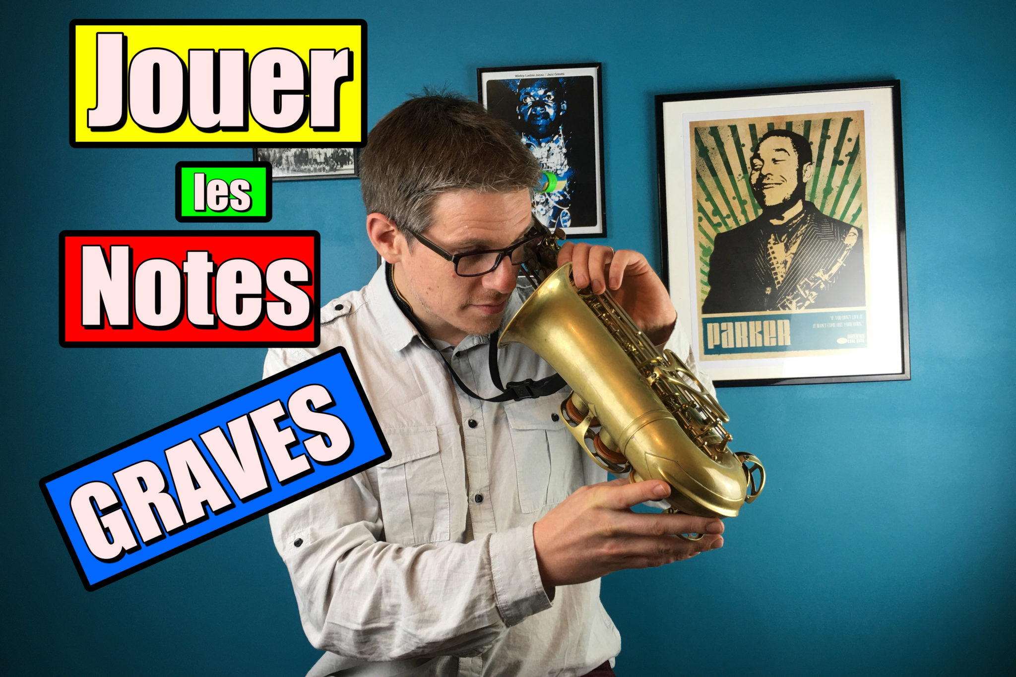 notes Graves au Saxophone